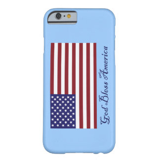 Gott segnen Amerika-Flagge Barely There iPhone 6 Hülle