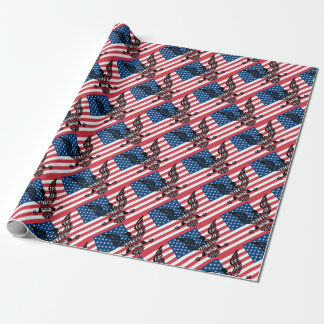 Gott segnen Amerika Geschenkpapier