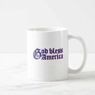 GOTT SEGNEN AMERIKA-KAFFEETASSE KAFFEETASSE