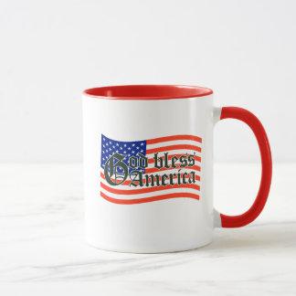 GOTT SEGNEN AMERIKA-KAFFEETASSE TASSE