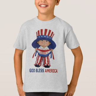 "Gott segnen Amerika""KinderT - Shirt"
