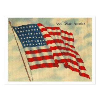Gott segnen Amerika Postkarten