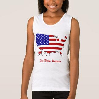 Gott segnen Amerika-T - Shirt