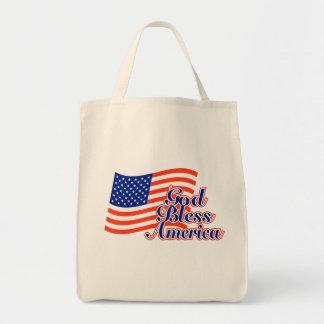 Gott segnen Amerika-Taschen-Tasche Tragetasche