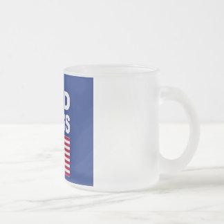 Gott segnen Amerika-Tasse Mattglastasse