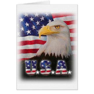 Gott segnen das USA! Grußkarte