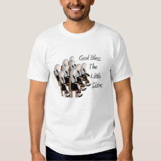 Gott segnen die kleinen Schwestern T Shirt