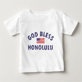 Gott segnen HONOLULU Baby T-shirt