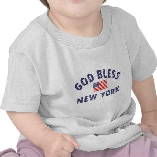 Gott segnen New York T-shirt