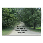 Gott segnen Sie Pastor, Psalm-118:26 Grußkarte