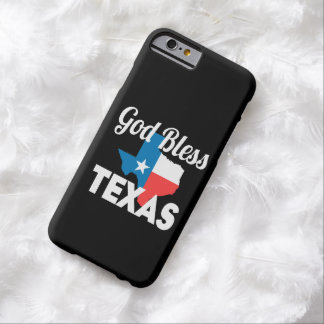 Gott segnen Texas Barely There iPhone 6 Hülle