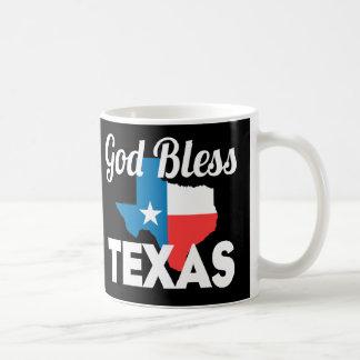 Gott segnen Texas Kaffeetasse