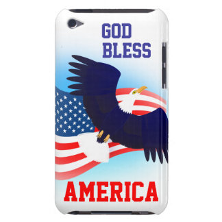 Gott segnen Touch-Fall Amerikas iPod iPod Touch Case