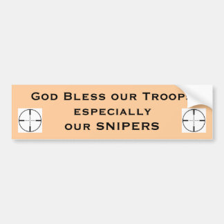 Gott segnen unsere besonderen Truppen… Autoaufkleber