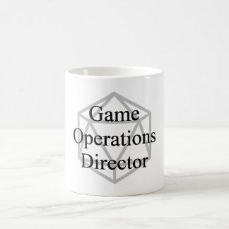 GOTT (Spiel-Operations-Direktor) Tasse