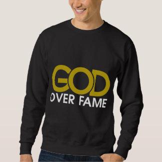 Gott über Ruhm-Kleid Sweatshirt