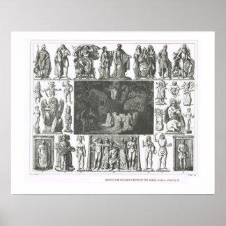 Gottheiten der Skandinavier, des Gauls und der Plakate