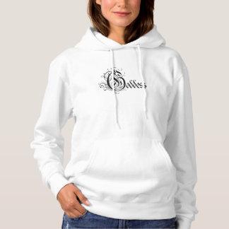 Göttin-Damen-Sweatshirt Hoodie