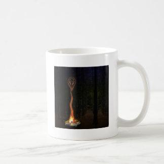 Göttin der Flamme Kaffeetasse