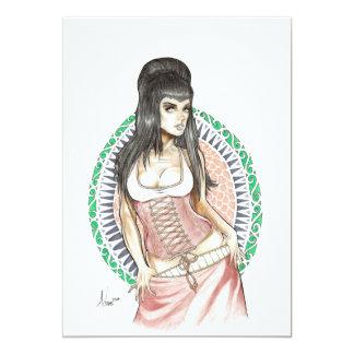 Göttin des Schicksals 12,7 X 17,8 Cm Einladungskarte