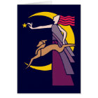 Göttin Goddess Diana Karte