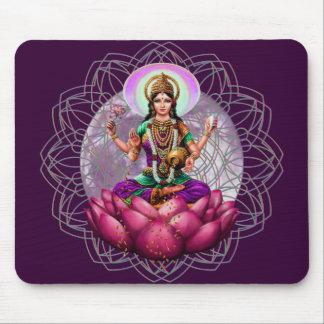 Göttin Lakshmi Mandala Mousepad