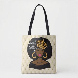 Göttin mit Haltungs-Taschen-Tasche Tasche