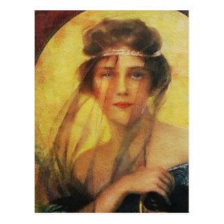 Göttin-Postkarte Postkarte