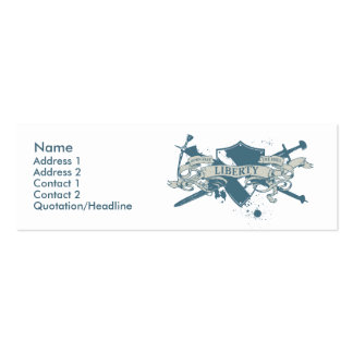 Göttin-Schild-Visitenkarte Jumbo-Visitenkarten