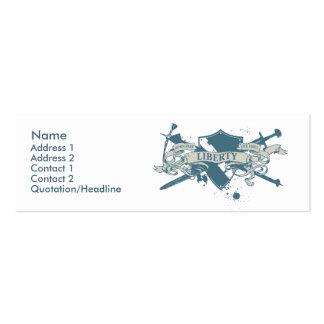 Göttin-Schild-Visitenkarte Mini-Visitenkarten