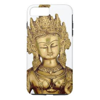 Göttin-Yoga-Tibet-Kunst-Frieden Taras Buddha iPhone 8 Plus/7 Plus Hülle