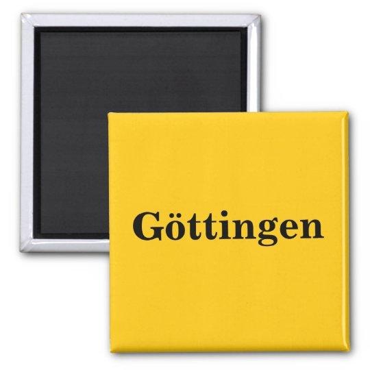 Göttingen  Magnet Schild Gold Gleb
