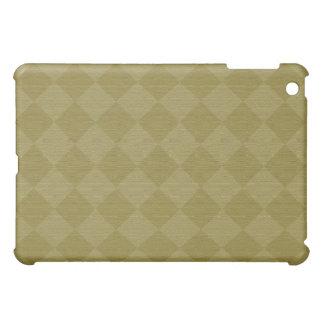 Göttliche Diamant Patterns_Olive Beschaffenheit iPad Mini Schale