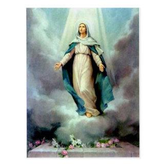 Göttliche Mutter Postkarte
