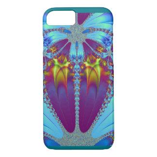 Göttliche Wolf-Geist-Fraktal-Kunst IPhone iPhone 8/7 Hülle