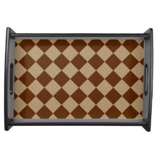 Göttlicher Diamant Patterns_Chocolate Mokka Tablett