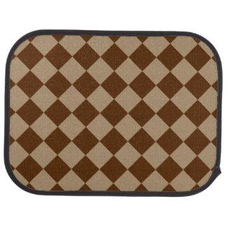 Göttlicher Diamant Patterns_Chocolate Mokka Auto Fussmatte