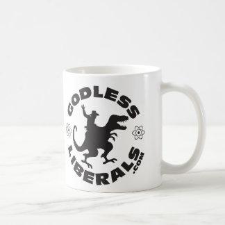 Gottlose liberale offizielle Logo-Tasse Tasse