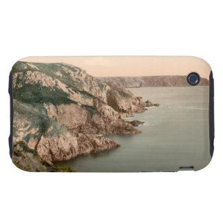 Gouffre Küste, Guernsey, Kanal-Inseln, England iPhone 3 Tough Hüllen