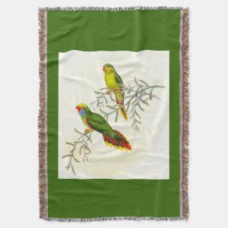 Goulds Lorikeet Vogel-Wurfs-Decke Decke