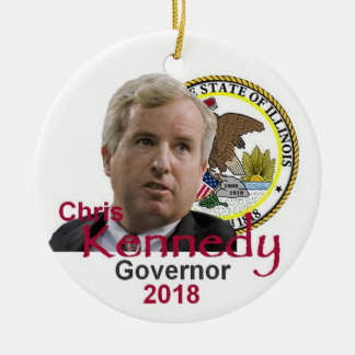 Gouverneur-Verzierung Chris KENNEDY Keramik Ornament