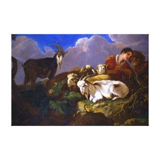 Govert van Der Leeuw Shepherds Leinwanddruck