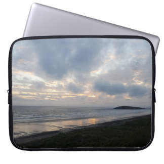 Gower Halbinsel-Strand-Laptop-Hülse Laptopschutzhülle