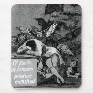 Goya der Schlaf des Grundes produziert Monster Mauspads