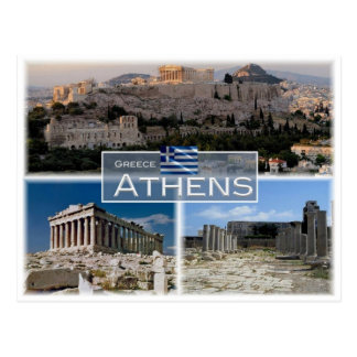 GR Griechenland - Athen - Postkarte