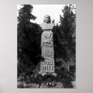 GRAB 1891 JAMES-BUTLER-HICKOK POSTER