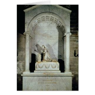Grab der Kaiserin Josephine 1825 Karte