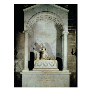 Grab der Kaiserin Josephine 1825 Postkarte