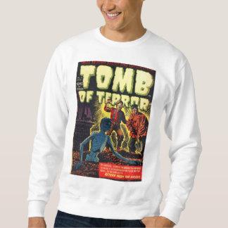 Grab der Terror-Rückkehr vom ernsten Horror-Comic Sweatshirt