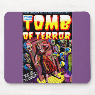 Grab des Terrors der Wandschrank Mousepad